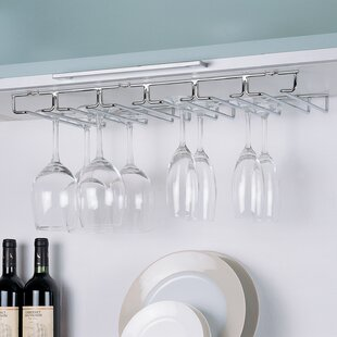 Prewitt Shelf Hanging Wine Glass Rack by ..