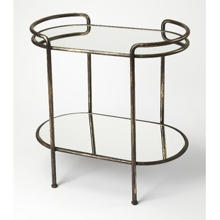 Minarik Mirror Bar Cart