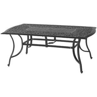 Metal Dining Table by Darby Home Co