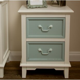 2 Drawer Laguna Bedside Table By Home Loft Concept
