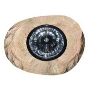 Deck Impressions Solar Rock 1 Light LED Spot Light
