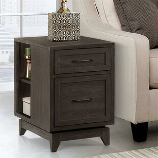 Malt End Table with Storage