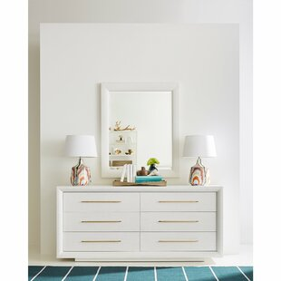 Panavista 6 Drawer Double Dresser with Mirror