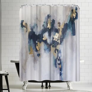 Christine Olmstead Strength Single Shower Curtain by East Urban Home No Copoun