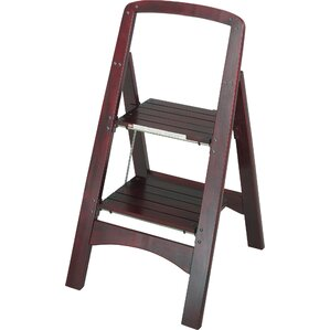 Rockford 2-Step Wood Step Stool with 225 lb. Load Capacity  sc 1 st  Wayfair : designer step stool - islam-shia.org