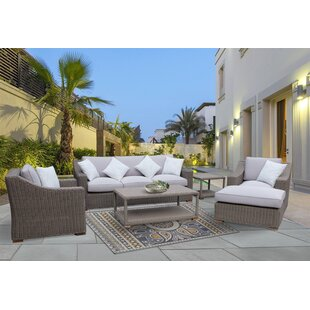 Harvey 6 Piece Sofa Set with Cushions by Red Barrel Studio
