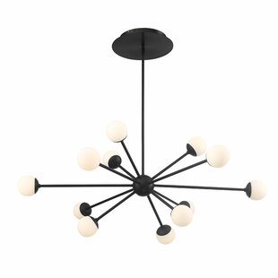 George Oliver Pellston 12-Light LED Sputnik Chandelier