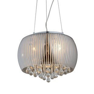 House of Hampton Conrado 5-Light Drum Chandelier