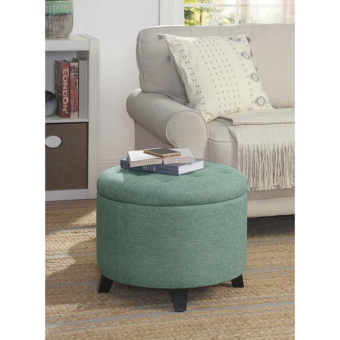 Marvelous Tufted Storage Ottoman Andrewgaddart Wooden Chair Designs For Living Room Andrewgaddartcom