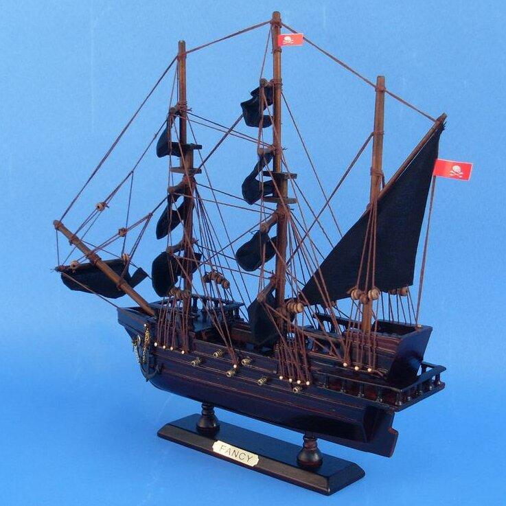 Breakwater Bay Muncy The Fancy Model Ship Wayfair