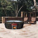 ALEKO 2 - Person 130 - Jet Vinyl Oval Inflatable Hot Tub