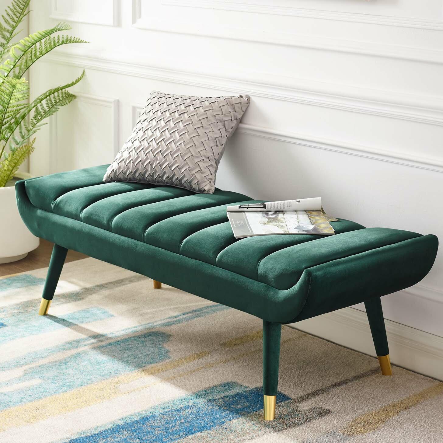 Mercer41 Mackay Upholstered Bench Reviews Wayfair