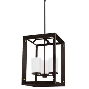 Neston 3-Light Square/Rectangular Pendant by Wrought Studio
