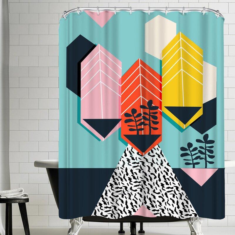 East Urban Home Wacka Designs Legit Single Shower Curtain Wayfair