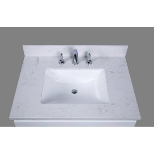 Bari 31 Single Bathroom Vanity Top