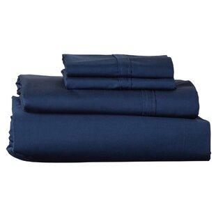 Brooklyn 300 Thread Count Egyptian 100% Cotton Sateen Deep Pocket Sheet Set