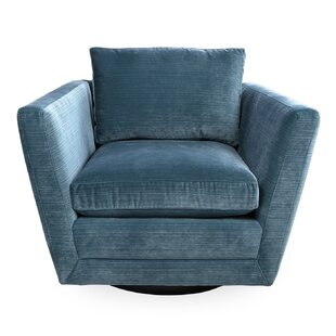 Sebastian Swivel Armchair by Jonathan Adler