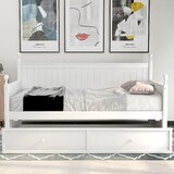 Nakia Twin Daybed with Trundle by Rosecliff Heights