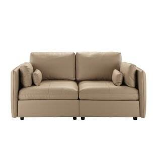 Campo Leather Loveseat