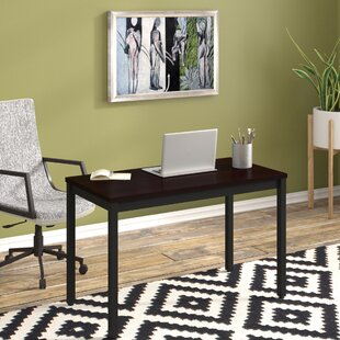 Heeter Rectangular Writing Office Desk by Ebern Designs Top Reviews