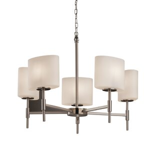 Brayden Studio Luzerne 5-Light Shaded Chandelier