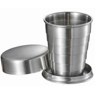 Scope Stainless Steel Folding 2 oz. Shot glass/Shooter