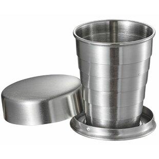 Scope Stainless Steel Folding 2 oz. Shot glass/Shooter