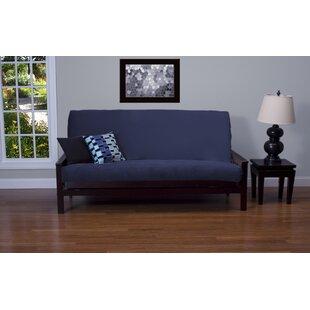 Arterbury Box Cushion Futon Slipcover By Darby Home Co