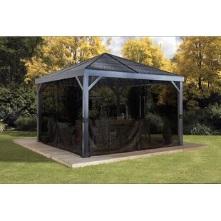 Sojag South Beach 12 Ft. W x 12 Ft. D Aluminum Patio Gazebo