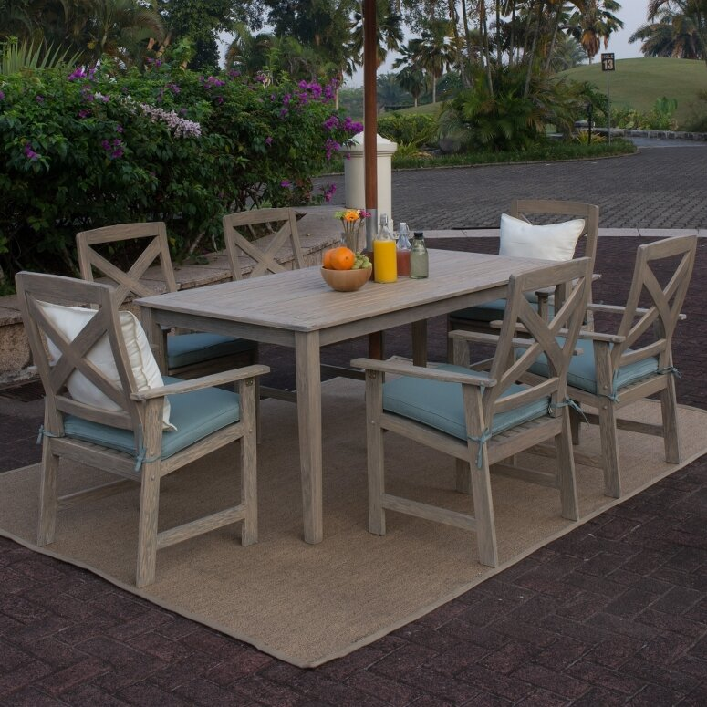 Amazing Holloway 7 Piece Dining Set
