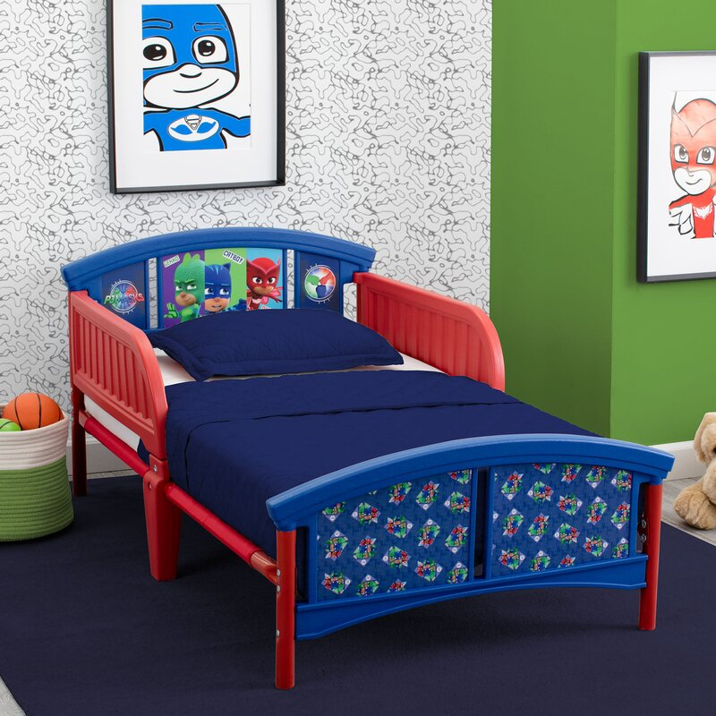 Delta children pj masks plastic toddler platform bed - Wayfair childrens bedroom furniture ...