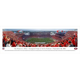 9798e44d0 NFL San Francisco 49Ers - Inaugural by Christopher Gjevre Photographic Print
