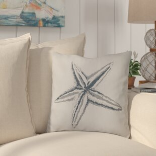 Allman Decorative Starfish Throw Pillow