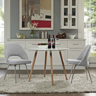 Bradway Upholstered Dining Chair (Set of 2) by Mercury Row