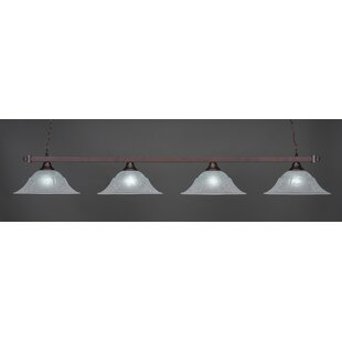 Red Barrel Studio Belgr 4-Light Billiard Pendant