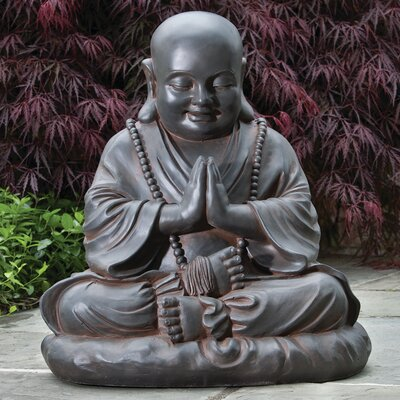 Alfresco Home Seated Buddha Statue
