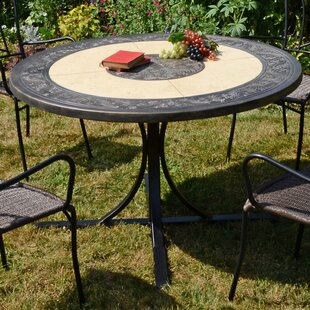 Lizeth Steel Dining Table By Sol 72 Outdoor
