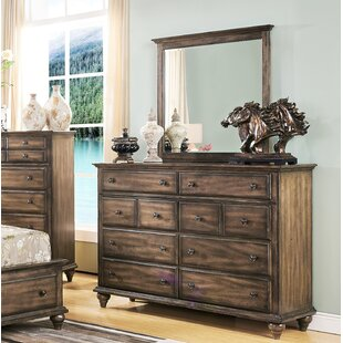 Van Buren 5 Drawer Dresser with Mirror