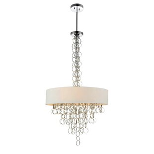CWI Lighting Chained 8-Light Chandelier