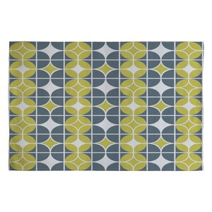 Heather Dutton Othello Gold/Yellow Geometric Area Rug