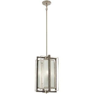 Zaleski 4-Light Square/Rectangle Pendant by George Oliver
