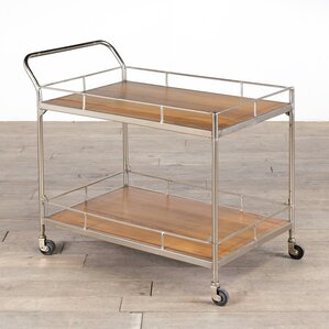 Valdez Trolley Bar Cart by ZallZo