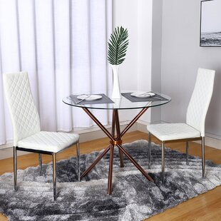 Swayze Dining Set With 2 Chairs By Ebern Designs