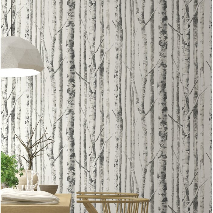 Wunsch Birch 18 L X 20 5 W Wallpaper Roll