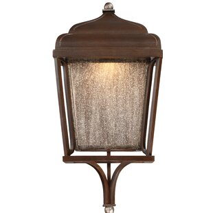 Gracie Oaks Serge 1-Light Outdoor Wall Lantern
