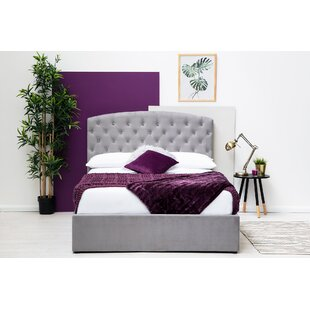 Keeler Kingsize (5') Upholstered Ottoman Bed With Mattress By Ebern Designs