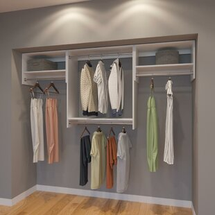 Low priced Coulter 96 W Organizer Closet System (Set of 3) By Rebrilliant