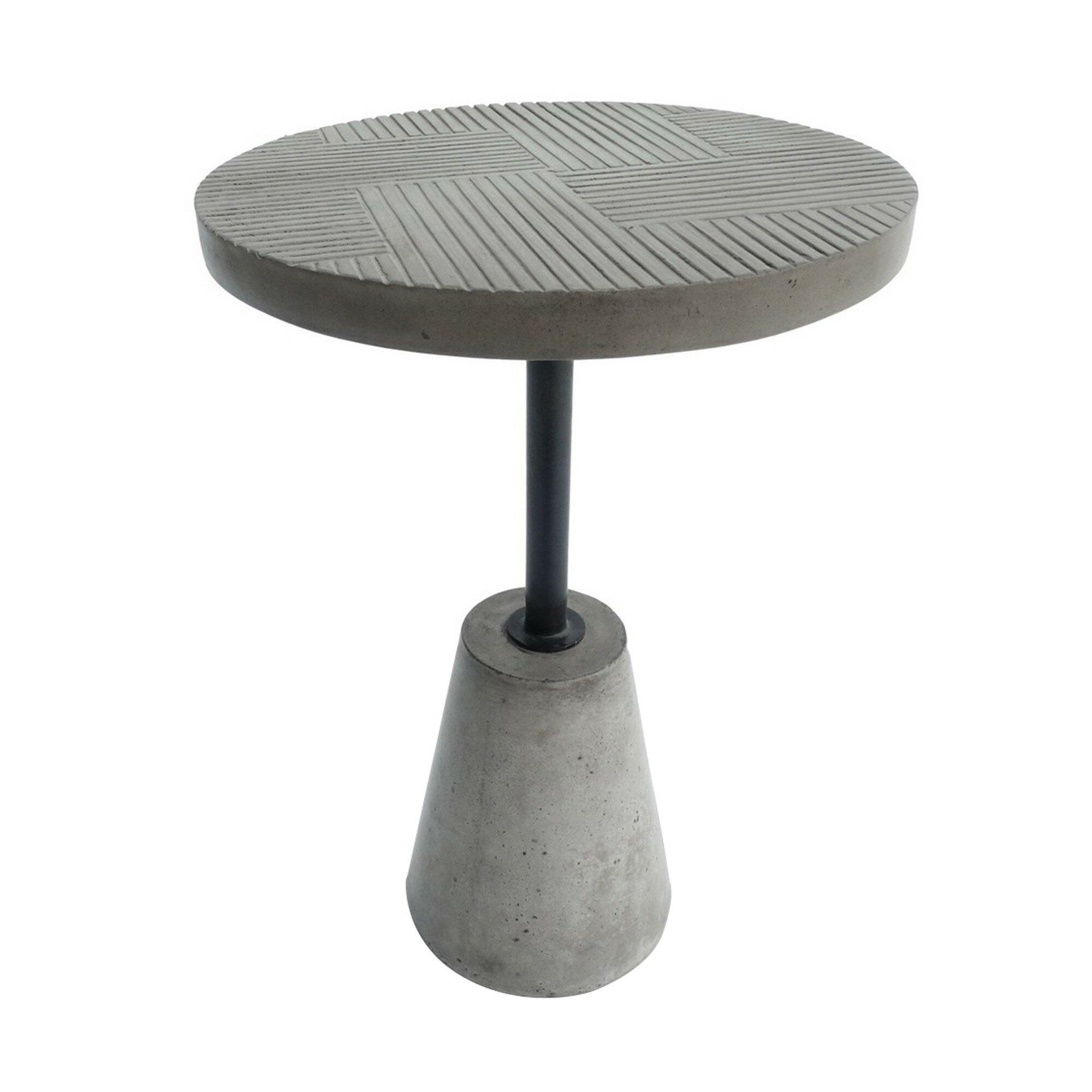 Williston Forge Ingersoll Pedestal End Table Wayfair