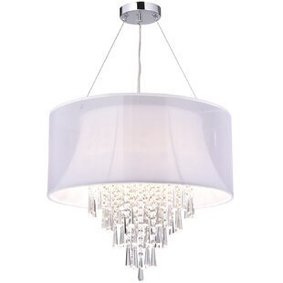House of Hampton Attalla Crystal 4-Light Chandelier