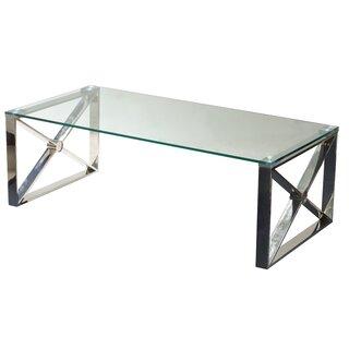 Westnedge Glass Coffee Table by Ebern Designs SKU:AE389581 Order